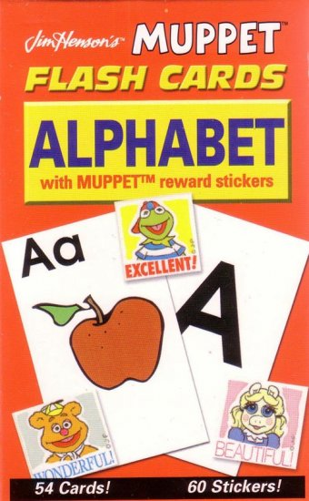 PRESCHOOL - ALPHABET Flash Card Set