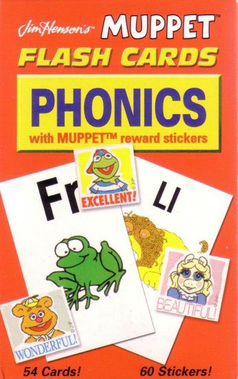 PRESCHOOL - PHONICS Flash Card Set