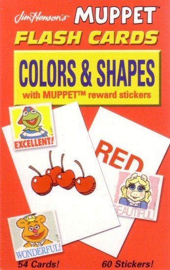 PRESCHOOL - COLORS & SHAPES Flash Card Set
