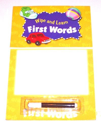PRESCHOOL - Wipe and Learn Board FIRST WORDS