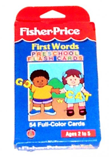 PRESCHOOL - FIRST WORDS Flash Cards