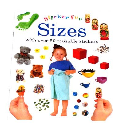 PRESCHOOL - Learn About SIZES Sticker Fun Book