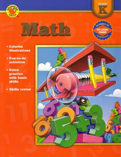 KINDERGARTEN - Teach your Child MATH Workbook