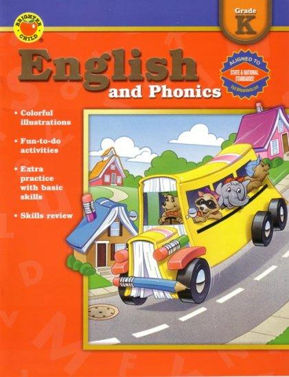KINDERGARTEN - Teach Your Child ENGLISH & PHONICS Workbook