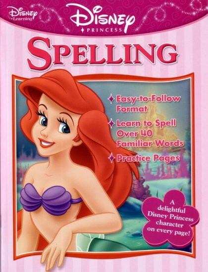 SECOND Grade - Learn SPELLING with Disney Princesses