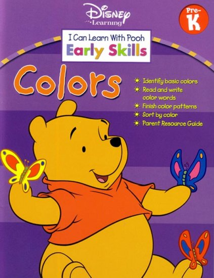 PRESCHOOL Teach Your Child COLORS with Winnie The Pooh