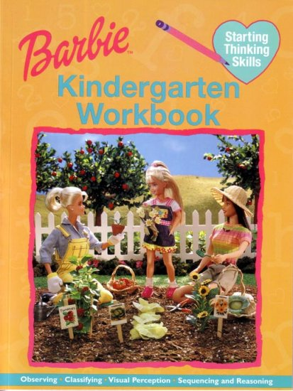 KINDERGARTEN Teach your Child THINKING SKILLS & REASONING with BARBIE