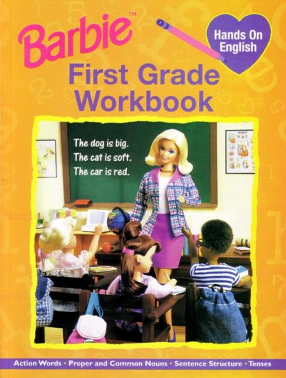FIRST GRADE - Teach your Child ENGLISH with BARBIE