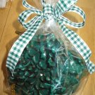 8 Hand-Dipped Pine Cone Fire-Starters Winter Spruce Scented