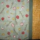 Set of 2 September Flannel Standard Pillow Cases- Handmade