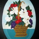 "Handcrafted Oval Wall Hanging ""Jennifer's Basket"""