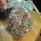 8 Hand-Dipped  Vanilla Cinnamon  Scented Pine Cone Fire-Starters-