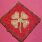 US 4th Army  Clover Patch  WW2 Vintage