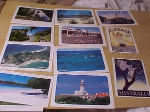 Lot of 12 Australian Postcards 6.5x5