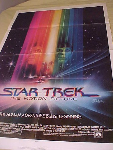 Star Trek 1sh  1 sheet  advance Movie Poster