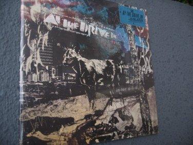 At the Drive In Inter Alia  Rare LTD New Sealed 1st LP Record Half Bone Splatter Vinyl + MP3
