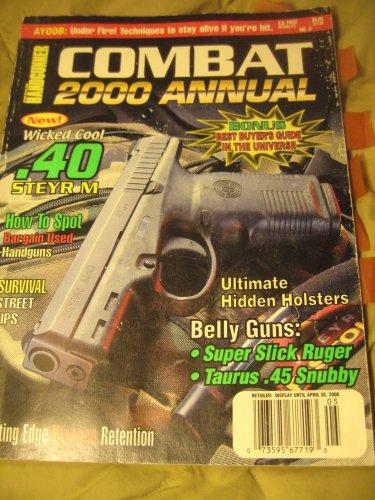 Combat 2k Annual Gun Digest  magazine