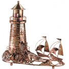 Musical Metal Sculpture Lighthouse #31420