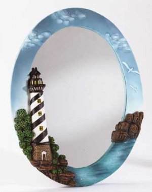 Lighthouse Wall Mirror #34094