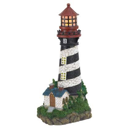 Lighthouse Solar Lamp #35719