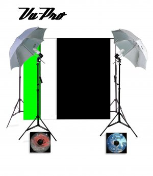 Vu-Pro Complete Basic Home Photography Studio Package