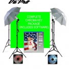 Vu-Pro Complete Basic Chromakey Digital Studio Package.