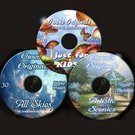 Any Three Digital Backdrop CD's