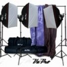 Vu-Pro Complete Pro Package #4 Photo Lighting, Backdrops, Backdrop Stand, Digital Backdrops Kit