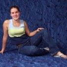 3D Blue Muslin Photography Backdrops-Owen's Originals