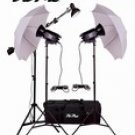 Vu-Pro V-100 1200 Watt Mini Boom Photography Lighting Kit