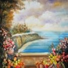 SW74 Scenic Hand Painted Photo Backdrop