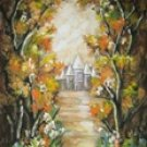 SW76 Scenic Hand Painted Photo Backdrop