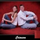 Crimson Muslin Photography Backdrop ,Painted Photo Backdrops