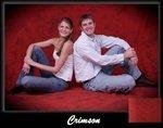 Crimson Muslin Photography Backdrop ,Painted Photo Backdrops