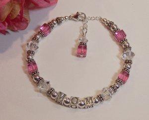 Primrose Sterling Silver Mothers Bracelet
