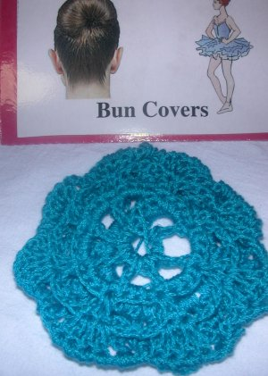 Crocheted Snoods-Bun Cover Links - InReach - Business class
