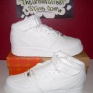 NIKE AIR FORCE ONE ALL WHITE HIGH TOPS MENS SIZE 10