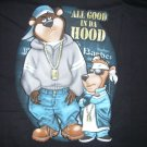 NEW YOGI AND BUBU JUST CHILLIN BIG T SHIRT