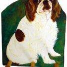 KING CHARLES SPANIEL Leash -Key Holder Cavalier dog art by Timeless Memories