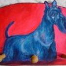 Scottish Terrier Dog Key or Leash Rack Holder