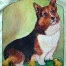 Pembroke Welsh Corgi Dog Key or Leash - Rack -Holder handmade decorative gifts