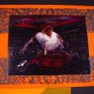 greeting card Vampire bat flying death rider coach Halloween Art Handmade greeting cards