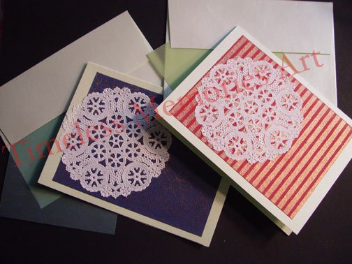 greeting Cards personalized handmade custom  photo greeting card set4