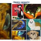 "Custom painting Commissioned pet portrait painting gallery wrapped canvas 11"" X 14"" Acrylic Painting"