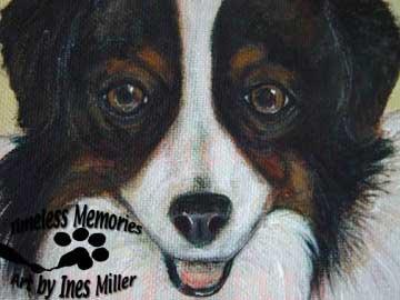 """Pet Portrait painting animal portraiture commissioned art painting 18""""X24"""" canvas panel"""