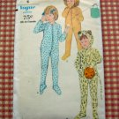 Vintage Vogue 5771 Animal Costume Sleeper sewing pattern