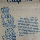 Baby Romper Play Set Vintage 40s Mail Order Sewing Pattern Laura Wheeler 760