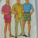 mad men style bermuda shorts vintage sewing pattern Simplicity 7145
