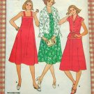 Midi Sundress Vintage Sewing Pattern Butterick 6024