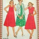 Midi Sundress Vintage Sewing Pattern Butterick 6024